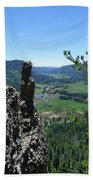 Outlook From The Ridge Bath Towel