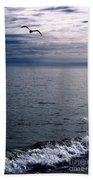 Over The Ocean Bath Towel