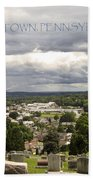 Overlooking Boyertown Bath Towel