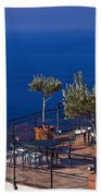 Overlooking Tyrrhenian Sea Bath Towel