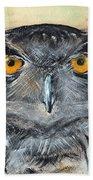 Owl Series - Owl 1 Bath Towel