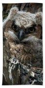 Owlet On The Watch Bath Towel