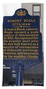 Pa-131 Robert Bogle 1774-1848 Bath Towel