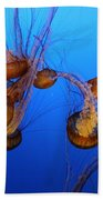 Pacific Sea Nettles Bath Towel