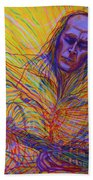 Paco De Lucia And Guardian Angel Hand Towel