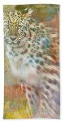 Paint Me A Cheetah Bath Towel