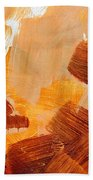 Painted Background Texture Bath Towel
