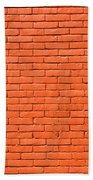 Painted Brick Wall Bath Towel