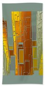 Painted City - Fantasy Cityscape Hand Towel