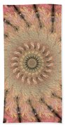 Painted Kaleidoscope 1 Bath Towel