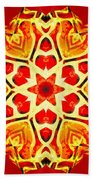 Painted Lotus Xi Bath Towel