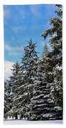 Painted Pines Bath Towel