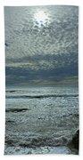 D3a6136-painted Sky Bolinas Ca  Bath Towel