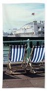 Palace Pier Brighton Bath Towel