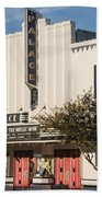 Palace Theater --- Georgetown Texas  Bath Towel