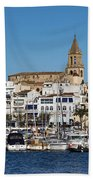 Palamos Spain Bath Towel