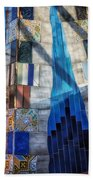 Palau Guell Bath Towel