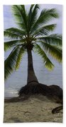 Palm At The Edge Of The Sea Number Two Bath Towel