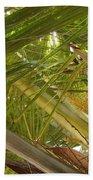 Palm Blossoms Bath Towel