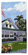 Palm Cottage Naples Florida Bath Towel