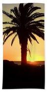 Palm Sunset Bath Towel