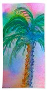 Palm Tree Study Bath Towel