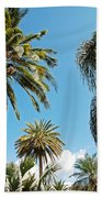 Palms In The Sky Bath Towel