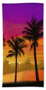 Palms Over St. Croix Hand Towel
