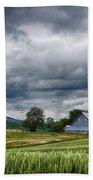 Palouse Farm And Steptoe Butte Bath Towel