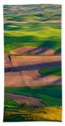 Palouse Ocean Of Wheat Bath Towel