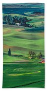 Palouse - Washington - Farms - 4 Bath Towel