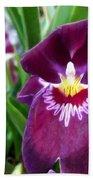 Pancy Orchid Bath Towel