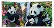 Panda Valley Bath Towel