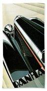 Panhard Car Advertisement Bath Towel
