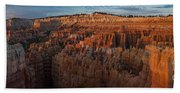 Panorama Of Bryce Canyon Amphitheater Hand Towel