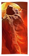 Panorama Slot Canyon Arizona Bath Towel
