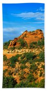 Panoramic View, Sedona, Arizona Bath Towel