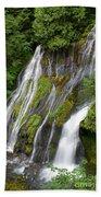 Panther Creek Falls 2- Washington Bath Towel