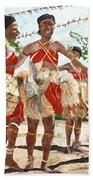 Papua New Guinea Cultural Show Bath Towel