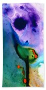Paradise Found - Colorful Abstract Painting Bath Towel