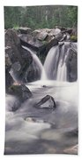 Paradise River Cascade Mt Rainier Bath Towel