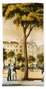 Paris 1878 Bath Towel