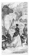 Paris: Boulevard, 1872 Bath Towel