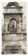 Paris Fountain, C1858 Bath Towel