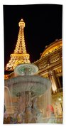 Paris Hotel And Casino In Las Vegas Bath Towel