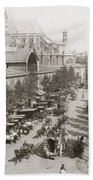 Paris: Les Halles, C1900 Bath Towel