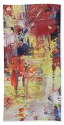 Paris Street Bath Towel