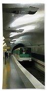 Paris Subway  Bath Towel