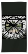 Paris Time Bath Towel