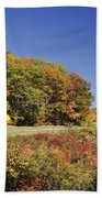 Parkway Road In North Carolina Bath Towel